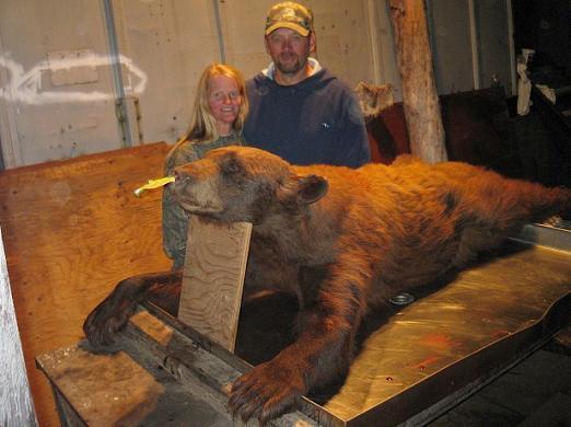 Ontario Black Bear Hunter Couple