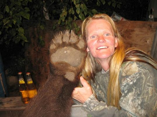 Lady and Bear Paw