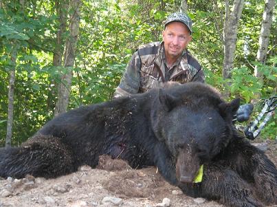 Ontario Black Bear Hunter