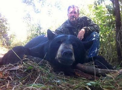 Merles Bear Hunting, Ontario