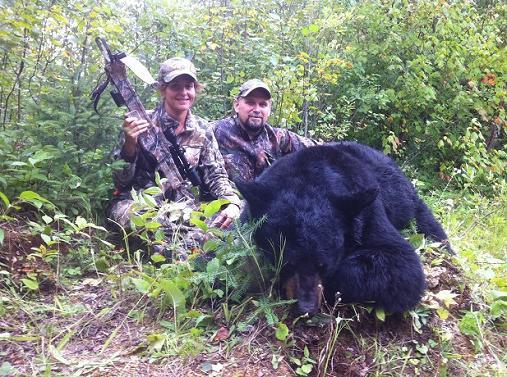 Ontario Black Bear, Crossbow