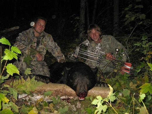 Ontario Black Bear Hunter Photo